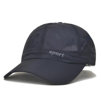 Stylish Letter Pattern Breathable Baseball Cap For Men