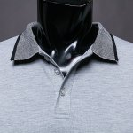 Simple Style Turn-Down Collar Short Sleeve Men's Polo T-Shirt deal