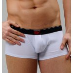 Simple Style Color Block Splicing Elastic Waist Men's Boxer Brief