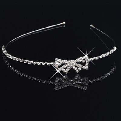 Gorgeous Rhinestone Bowknot Hairband For Women