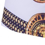 best Loose Fit Golden Thongs Print Short Sleeves Round Neck T-Shirt For Men