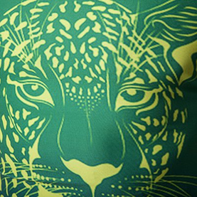 Slim Fit Pullover Lion Printing T-Shirt For Men