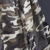 Cute Scoop Neck Sleeveless High Low Camouflage Color Dress For Girl photo