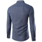 cheap Long Sleeves Checked Single Breasted Shirt For Men