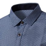 Long Sleeves Checked Single Breasted Shirt For Men deal