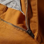 Casual Zip Fly Solid Color Shorts For Men deal