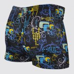 cheap Quick-drying Waterproof Printed Men's Boxers Swimming Trunks