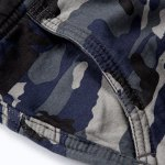 best Military Style Straight Leg Multi-Pocket Loose Fit Zipper Fly Camo Cargo Pants For Men(Thicken)