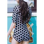 Polka Dot One Piece Swimsuit deal