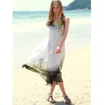 Bohemian Style Sleeveless Printed Women's Dress deal