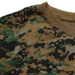 cheap Slimming Short Sleeves Round Collar Camo T-Shirt For Men