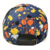 Trendy Letters Embroidery Multicolor Splash-Ink Pattern Jeans Baseball Cap deal