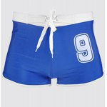 Hot Sale Lace Up Letter Printed Boxers Swimming Trunks For Men