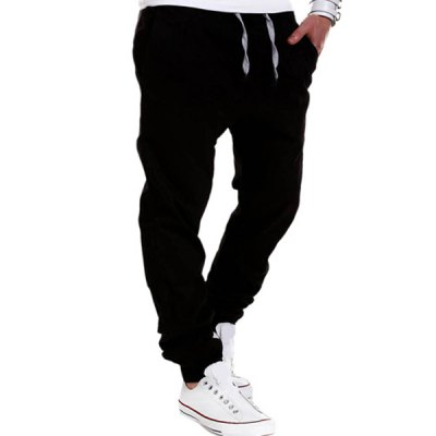 Beam Feet Low Crotch Design Drawstring Mens PantsMens Pants<br>Beam Feet Low Crotch Design Drawstring Mens Pants<br><br>Closure Type: Zipper Fly<br>Fit Type: Regular<br>Front Style: Flat<br>Material: Cotton Blends, Jeans<br>Package Contents: 1 x Jeans<br>Pant Length: Long Pants<br>Pant Style: Straight<br>Style: Casual<br>Waist Type: Low<br>Weight: 0.332kg