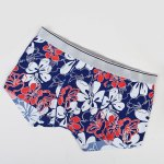 cheap Elastic Waist Flowers Pattern Comfortable Boxer Brief For Men