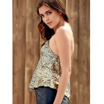 Sparkly Sequins Tank Top For Party for sale