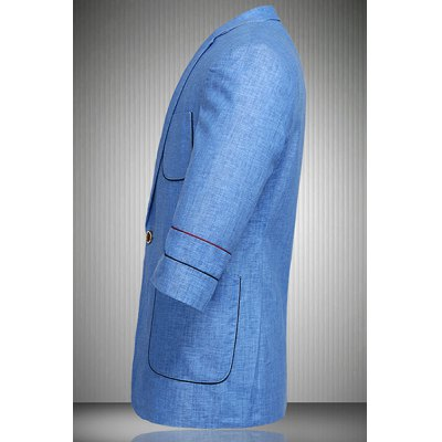 Single Button Flax Three Quarter Sleeve Blazer For MenMens Blazers<br>Single Button Flax Three Quarter Sleeve Blazer For Men<br><br>Material: Cotton Blends<br>Clothing Length: Regular<br>Sleeve Length: Long Sleeves<br>Weight: 0.850 kg<br>Package Contents: 1 x Blazer