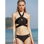 cheap Cut Out Bikini Set