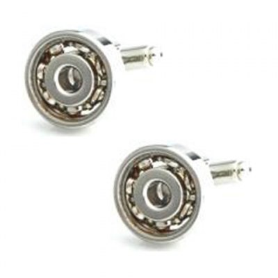 Bearing Shape Electroplate Alloy Cufflinks For Men
