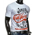 cheap Round Neck Stars and Letters Printed Short Sleeve T-Shirt For Men
