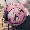 Cute Floral Print and Butterfly Pattern Design Shoulder Bag For Women deal