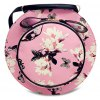 Cute Floral Print and Butterfly Pattern Design Shoulder Bag For Women