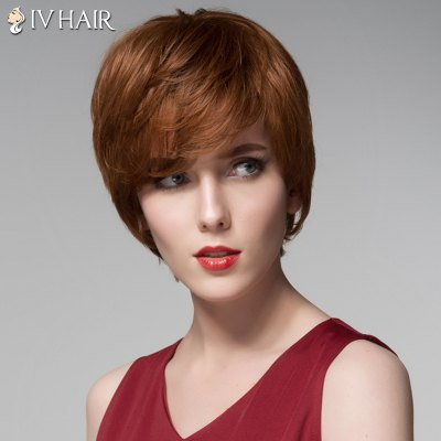 Siv Hair Side Bang Capless Fashion Short Straight Human Hair WigHuman Hair Wigs<br>Siv Hair Side Bang Capless Fashion Short Straight Human Hair Wig<br><br>Type: Full Wigs<br>Cap Construction: Capless<br>Style: Straight<br>Cap Size: Average<br>Material: Human Hair<br>Bang Type: Side<br>Length: Short<br>Occasion: Daily<br>Density: 130%<br>Length Size(CM): 15<br>Weight: 0.135 kg<br>Package Contents: 1 x Wig