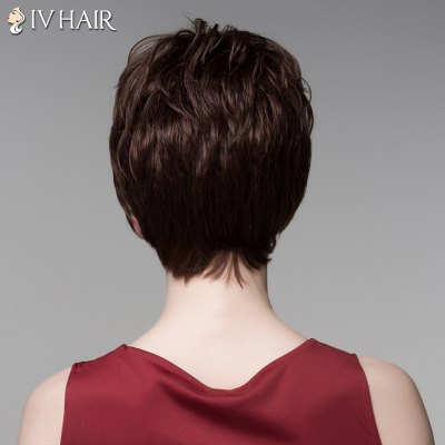 Stunning Short Siv Hair Capless Shaggy Wave Side Bang Real Human Hair For WomenHuman Hair Wigs<br>Stunning Short Siv Hair Capless Shaggy Wave Side Bang Real Human Hair For Women<br><br>Type: Full Wigs<br>Cap Construction: Capless<br>Style: Wavy<br>Cap Size: Average<br>Material: Human Hair<br>Bang Type: Side<br>Length: Short<br>Occasion: Daily<br>Density: 130%<br>Length Size(CM): 14<br>Weight: 0.130 kg<br>Package Contents: 1 x Wig
