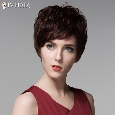 Siv Hair Short Capless Shaggy Wave Side Bang Real Human HairHuman Hair Wigs<br>Siv Hair Short Capless Shaggy Wave Side Bang Real Human Hair<br><br>Type: Full Wigs<br>Cap Construction: Capless<br>Style: Wavy<br>Cap Size: Average<br>Material: Human Hair<br>Bang Type: Side<br>Length: Short<br>Occasion: Daily<br>Density: 130%<br>Length Size(CM): 14<br>Weight: 0.130 kg<br>Package Contents: 1 x Wig