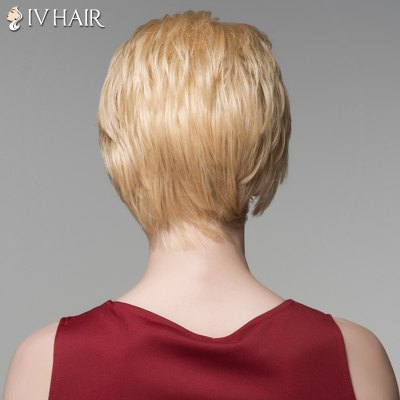 Shaggy Natural Straight Siv Hair Capless Fashion Short Side Bang Human Hair Wig For WomenHuman Hair Wigs<br>Shaggy Natural Straight Siv Hair Capless Fashion Short Side Bang Human Hair Wig For Women<br><br>Type: Full Wigs<br>Cap Construction: Capless<br>Style: Straight<br>Cap Size: Average<br>Material: Human Hair<br>Bang Type: Side<br>Length: Short<br>Occasion: Daily<br>Density: 130%<br>Length Size(CM): 14<br>Weight: 0.130 kg<br>Package Contents: 1 x Wig