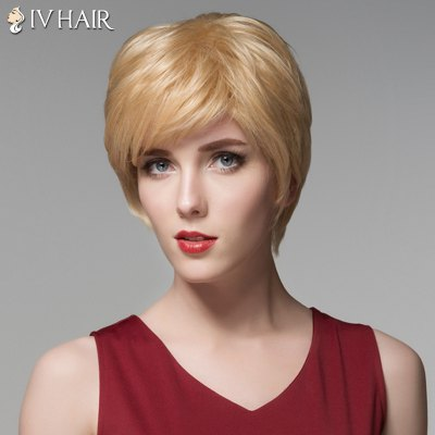 Siv Hair Shaggy Natural Straight Capless Fashion Short Side Bang Human Hair WigHuman Hair Wigs<br>Siv Hair Shaggy Natural Straight Capless Fashion Short Side Bang Human Hair Wig<br><br>Type: Full Wigs<br>Cap Construction: Capless<br>Style: Straight<br>Cap Size: Average<br>Material: Human Hair<br>Bang Type: Side<br>Length: Short<br>Occasion: Daily<br>Density: 130%<br>Length Size(CM): 14<br>Weight: 0.130 kg<br>Package Contents: 1 x Wig