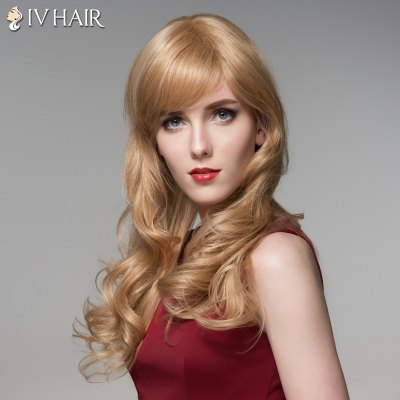Siv Hair Long Capless Fluffy Wavy Side Bang Human Hair WigHuman Hair Wigs<br>Siv Hair Long Capless Fluffy Wavy Side Bang Human Hair Wig<br><br>Type: Full Wigs<br>Cap Construction: Capless<br>Style: Wavy<br>Cap Size: Average<br>Material: Human Hair<br>Bang Type: Side<br>Length: Long<br>Occasion: Daily<br>Density: 130%<br>Length Size(CM): 52<br>Weight: 0.220 kg<br>Package Contents: 1 x Wig