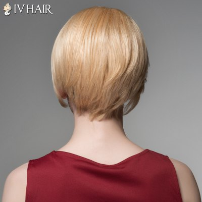 Elegant Short Side Bang Siv Hair Fashion Straight Side Bang Human Hair Wig For WomenHuman Hair Wigs<br>Elegant Short Side Bang Siv Hair Fashion Straight Side Bang Human Hair Wig For Women<br><br>Type: Full Wigs<br>Cap Construction: Capless<br>Style: Straight<br>Cap Size: Average<br>Material: Human Hair<br>Bang Type: Side<br>Length: Short<br>Occasion: Daily<br>Density: 130%<br>Length Size(CM): 15<br>Weight: 0.135 kg<br>Package Contents: 1 x Wig