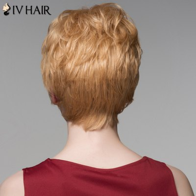 Ladylike Short Siv Hair Capless Fluffy Curly Side Bang Real Natural Hair Wig For WomenHuman Hair Wigs<br>Ladylike Short Siv Hair Capless Fluffy Curly Side Bang Real Natural Hair Wig For Women<br><br>Type: Full Wigs<br>Cap Construction: Capless<br>Style: Curly<br>Cap Size: Average<br>Material: Human Hair<br>Bang Type: Side<br>Length: Short<br>Occasion: Daily<br>Density: 130%<br>Length Size(CM): 14<br>Weight: 0.130 kg<br>Package Contents: 1 x Wig