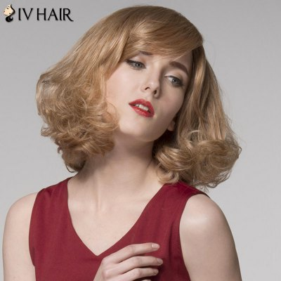 Siv Hair Side Bang Medium Fluffy Curly Capless Human Hair WigHuman Hair Wigs<br>Siv Hair Side Bang Medium Fluffy Curly Capless Human Hair Wig<br><br>Type: Full Wigs<br>Cap Construction: Capless<br>Style: Wavy<br>Cap Size: Average<br>Material: Human Hair<br>Bang Type: Side<br>Length: Medium<br>Occasion: Daily<br>Density: 130%<br>Length Size(CM): 35<br>Weight: 0.190 kg<br>Package Contents: 1 x Wig