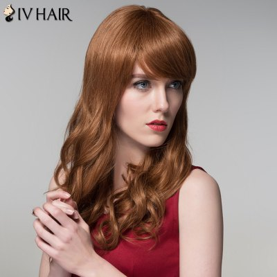 Siv Hair Shaggy Wavy Capless Trendy Long Side Bang Real Human Hair WigHuman Hair Wigs<br>Siv Hair Shaggy Wavy Capless Trendy Long Side Bang Real Human Hair Wig<br><br>Type: Full Wigs<br>Cap Construction: Capless<br>Style: Wavy<br>Cap Size: Average<br>Material: Human Hair<br>Bang Type: Side<br>Length: Long<br>Occasion: Daily<br>Density: 130%<br>Length Size(CM): 54<br>Weight: 0.150 kg<br>Package Contents: 1 x Wig
