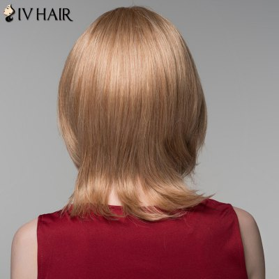 100 Percent Human Hair Fashion Medium Layered Fluffy Straight Siv Hair Wig For WomenHuman Hair Wigs<br>100 Percent Human Hair Fashion Medium Layered Fluffy Straight Siv Hair Wig For Women<br><br>Type: Full Wigs<br>Cap Construction: Capless<br>Style: Straight<br>Cap Size: Average<br>Material: Human Hair<br>Bang Type: Side<br>Length: Medium<br>Occasion: Daily<br>Density: 130%<br>Length Size(CM): 31<br>Weight: 0.180 kg<br>Package Contents: 1 x Wig