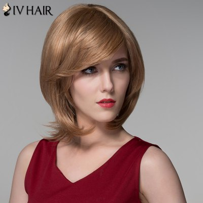 Siv Hair Human Hair Fashion Medium Layered Fluffy Straight WigHuman Hair Wigs<br>Siv Hair Human Hair Fashion Medium Layered Fluffy Straight Wig<br><br>Type: Full Wigs<br>Cap Construction: Capless<br>Style: Straight<br>Cap Size: Average<br>Material: Human Hair<br>Bang Type: Side<br>Length: Medium<br>Occasion: Daily<br>Density: 130%<br>Length Size(CM): 31<br>Weight: 0.180 kg<br>Package Contents: 1 x Wig