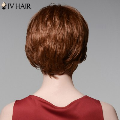 Siv Hair Elegant Short Capless Shaggy Wavy Side Bang 100 Percent Human Hair WigHuman Hair Wigs<br>Siv Hair Elegant Short Capless Shaggy Wavy Side Bang 100 Percent Human Hair Wig<br><br>Type: Full Wigs<br>Cap Construction: Capless<br>Style: Wavy<br>Cap Size: Average<br>Material: Human Hair<br>Bang Type: Side<br>Length: Short<br>Occasion: Daily<br>Density: 130%<br>Length Size(CM): 15<br>Weight: 0.140 kg<br>Package Contents: 1 x Wig