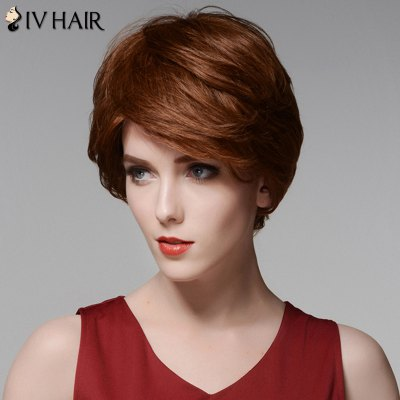 Siv Hair Elegant Short Capless Shaggy Wavy Side Bang  Human Hair WigHuman Hair Wigs<br>Siv Hair Elegant Short Capless Shaggy Wavy Side Bang  Human Hair Wig<br><br>Type: Full Wigs<br>Cap Construction: Capless<br>Style: Wavy<br>Cap Size: Average<br>Material: Human Hair<br>Bang Type: Side<br>Length: Short<br>Occasion: Daily<br>Density: 130%<br>Length Size(CM): 15<br>Weight: 0.140 kg<br>Package Contents: 1 x Wig