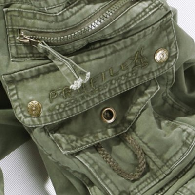Casual Solid Color Muiti-pockets Cargo Pants For Men