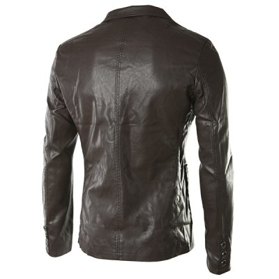 turn-down-collar-pockets-long-sleeve-pu-leather-jacket-for-men