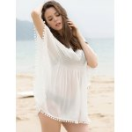 Fashionable Scoop Neck Dolman Sleeve Cover-Up Dress For Women deal