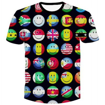 Pullover Emotion Printed T-Shirt For Men