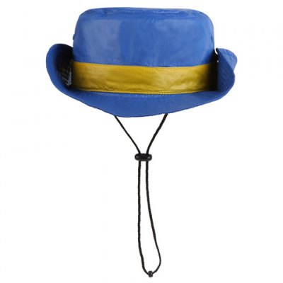 Chic Button Drawstring Sun-Resistant Collapsible Bucket Hat For Women