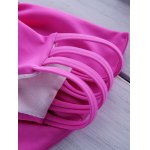 Sweet Style Solid Color Bowknot Embellished Bikini Briefs For Women deal