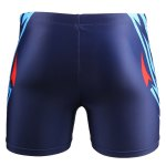 Printed Elastic Waist Swimming Trunks For Men deal