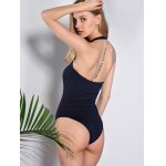 Active Lace-Up Design Hollow Out One-Piece Women's Swimsuit for sale