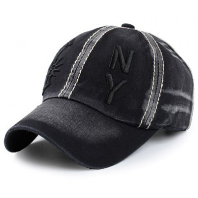 Statue of Liberty Letters Embroidery Baseball Hat For Men