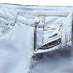 Fashion Straight Legs Zip Fly Denim Pants For Men deal